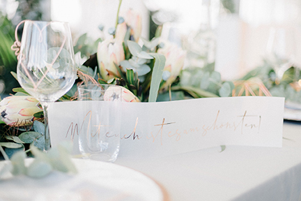 Greenery Copper Wedding